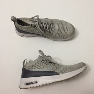 111a97d5f7e Nike Shoes - Nike Air Max Thea Ultra Flyknit silver grey 8.5